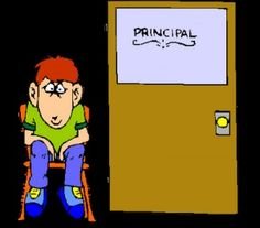 Should be called Don't Send em'   --Send Em' To the Principal's Office---great article about understanding that the criteria for whether something acts as a reinforcer or punisher is how it affects future behavior--
