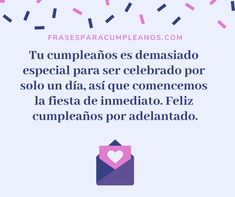 Happy Birthday Ecard, Ecards, Texts, Frases, Greeting Card, Morning Messages, Neon Birthday Parties, E Cards