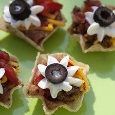 TACO BITES. Fun appetizer idea.