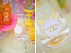 Signature Wedding drink Ideas - Summer themed