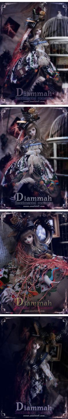 Diammah bjd from Soul Doll