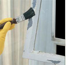 How to restore steel window frames.