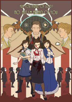 Bioshock Infinite: In the Hands of a God by handraw.deviantart.com