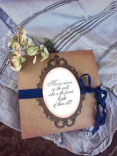 Snow White invitations