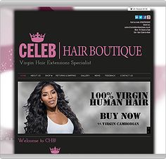 Get a website like this from 895 from bonline new web hair salon website check out bonline for all of our salon urmus Images