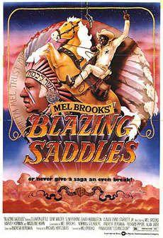 Blazing Saddles Movie Poster x 40 Inches - x Style B -(Cleavon Little)(Harvey Korman)(Madeline Kahn)(Gene Wilder)(Mel Brooks)(John Hillerman) by MG Poster Western Film, Western Movies, Cowboy Western, Funny Movies, Great Movies, Funniest Movies, Awesome Movies, Movies Free, Hindi Movies