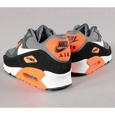 Nike Air Max 90 Premium Total Crimson (Lato 2013) ❤ liked on Polyvore featuring nike