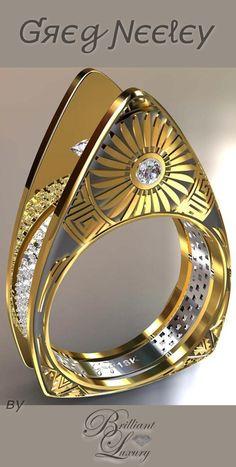 Brilliant Luxury ♦ Greg Neeley Hopi Pottery Ladies Ring