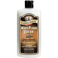 Parker & Bailey Wood Floor Cream, 16 oz. by Parker & Bailey. $9.90. http://yourdailydream.org/showme/dpibi/Bi0b0i4gIn4uMdLeVzUk.html