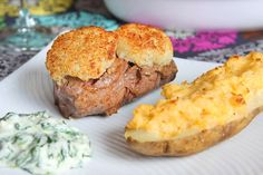Parmesan Crusted Filet Mignon - very good!