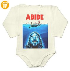 The Dude Abide Film Parody Baby Long Sleeve Romper Bodysuit Medium - Baby bodys baby einteiler baby stampler (*Partner-Link)