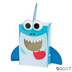 Shark Valentine Card Holder Box Craft Kit