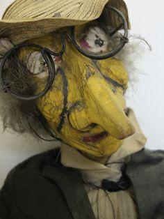 Marionnettes et figurines du Fonds Léon Chancerel.