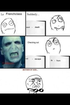 French and Harry Potter!!!!