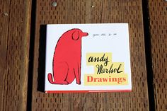 Andy Warhol Drawings {80pgs} collected commercial illustrations from 1950-1960.