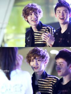 120602 INDEX UPLOAD! (coverboy) Chanyeol with D.O