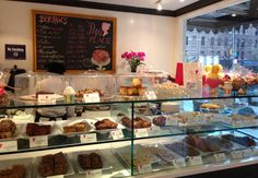 9 healthiest bakeries in NY, courtesy of well and good nyc. Love this website New York Eats, Gluten Free Restaurants, Gluten Free Bakery, Nyc, All I Ever Wanted, Bakery Cafe, Stop Eating, So Little Time, Catering