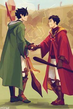 Haikyuu hogwarts