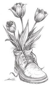 tulip drawing - Google Search