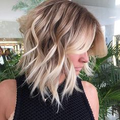 Does this chop make you want short hair?! Because it is giving us all the mane envy right now. 😍🙃✂️ #Woblove via @romeufelipe. #weekendhaircrush #shorthairdontcare #hairgoals #shorthaircrush #maneinspo Blonde Ombre Short Hair, Brown To Blonde Ombre, Ombre Hair Color, Blonde Color, Brown Hair, Short Ombre, Hair Colors, Balayage Lob, Short Balayage