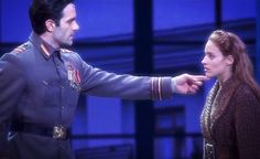 Anastasia Side note: if Ramin Karimloo touched my chin and looked at me like that, I'd probably melt into a little puddle ♡♡ Theatre Nerds, Music Theater, Broadway Theatre, Broadway Shows, Musicals Broadway, Broadway Nyc, Anastasia Broadway, Anastasia Musical, Disney Anastasia