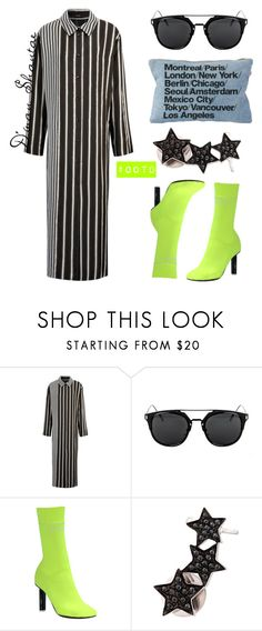 """""""#OOTD - Joseph Viscose Dress, Vetements Boots"""" by adswil ❤ liked on Polyvore featuring Joseph, Vetements and Alinka"""