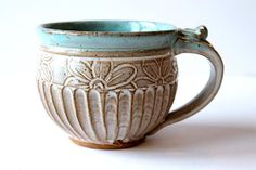 Mug / Teacup Handmade Pottery Ceramic Handmade click the image for more details. Mug / Teacup Handmade Pottery Ceramic Handmade click the image for more details. Pottery Tools, Pottery Classes, Pottery Mugs, Ceramic Pottery, Pottery Art, Ceramic Cups, Ceramic Art, Stoneware Clay, Keramik Design