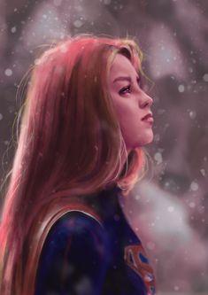 Supergirl . Melissa Benoist . DC universe . TV-show .