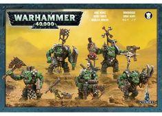 Warhammer 40K Ork Nobz