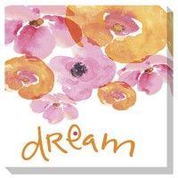 Jachai - Pink/Orange/White - Wall Art