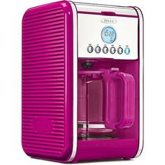Bella Linea Collection 12Cup Coffee Maker PINK ** Read more  at the image link.Note:It is affiliate link to Amazon.