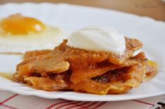 Chilaquiles is the world's best breakfast food!