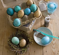 nice idea for easter eggs