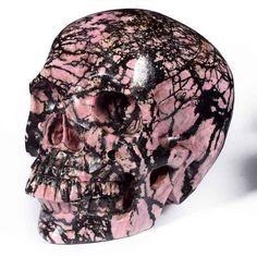 Your place to buy and sell all things handmade Skull Head, Skull Art, Root Chakra Stones, Colorful Skulls, Skull Pictures, Skull Island, Mineral Stone, Crystal Skull, Skull Design