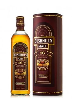 BUSHMILLS 16 YEAR OLD Matured in Three Woods