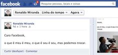 Facebook muda suas regras