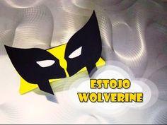 DIY.: Estojo Wolverine #diy #doityourself #manualidades #tutorial #comofaz #comofazer #facil #ideias #ideiascriativas #criatividade #art #arte #artesanato #molde #craft #estojo #estojinho #wolverine #superheroi #heroi #herois #hero #xmen #xmenapocalipse #festademenino #lembrancinha #lembrancinhas #personalizados #comic #comics #geek #youtube #youtubechannel #canaltadearte