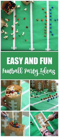 Are you ready for football season?! These football party ideas are easy and…