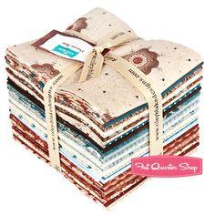 #FQSgiftguide #friendsandfamily Prairie Rose Fat Quarter Bundle Sue Daley Designs for Riley Blake Designs
