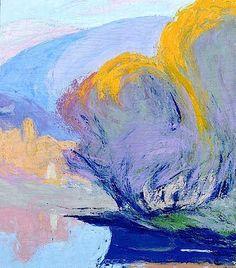bofransson: Ellen Thesleff - Italian Landscape 1906