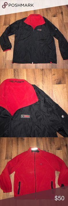 Vintage Large Tommy Hilfiger Reversible Jacket Excellent condition Tommy Hilfiger Jackets & Coats Performance Jackets