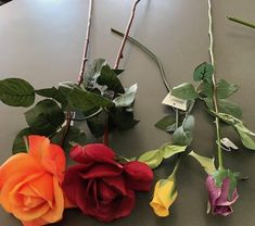 Real touch roses - comes in more colors