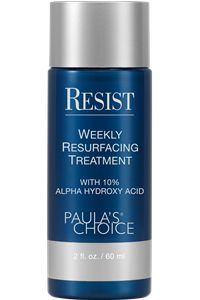 RESIST Weekly Resurfacing Treatment 10% AHA... best exfoliant I have EVER used. Makes my skin GLOW. :-)