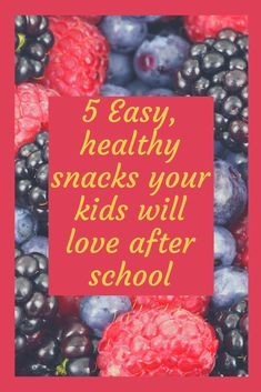 5 Easy, healthy snacks your kids will love after school - The Kids Foodie Easy Snacks For Kids, Healthy Snacks For Kids, Kids Meals, Healthy Eating, Clean Eating For Beginners, Baking With Kids, After School Snacks, Budget Meals, Kid Friendly Meals