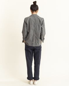 I love everything about this from head to toe. Lovely relaxed neutrals from Margaret Howell.