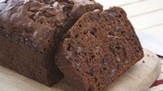 A great way to use extra zucchini. It's folded into a dense and sweet bread with three different kinds of chocolate.