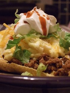 Breakfast Taco Salad..this sounds delish!