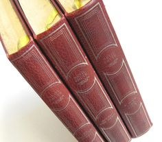 3 Vintage Books by Nevil Shute Red Bindings by TheWhistlingMan