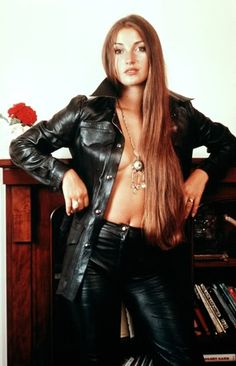 Jane Seymour....yep, that's wholesome Dr. Quinn in the 70s...lol