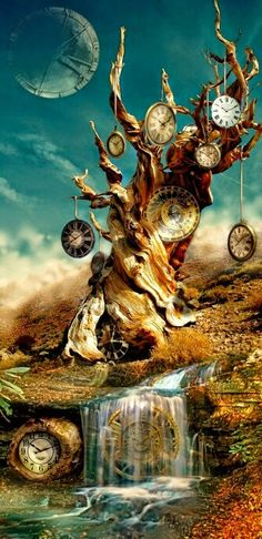 Looks like a combination of Steampunk and work of the artist Salvador Dali. Surrealism and fantasy of the imagination. This image has been created using Photoshop for image manipulation. Fantasy Kunst, Fantasy Art, Wow Art, Fine Art, Photo Manipulation, Oeuvre D'art, Amazing Art, Concept Art, Art Photography